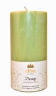 Hyssop Candle