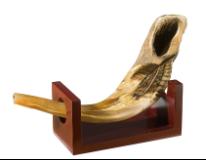 Rams Horn Holder