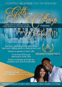 KEM Free Gifts and Callings Class Flyer